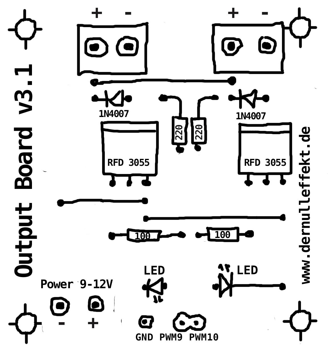 dual mos fet mod box wiring diagram hex mod ohm box wiring